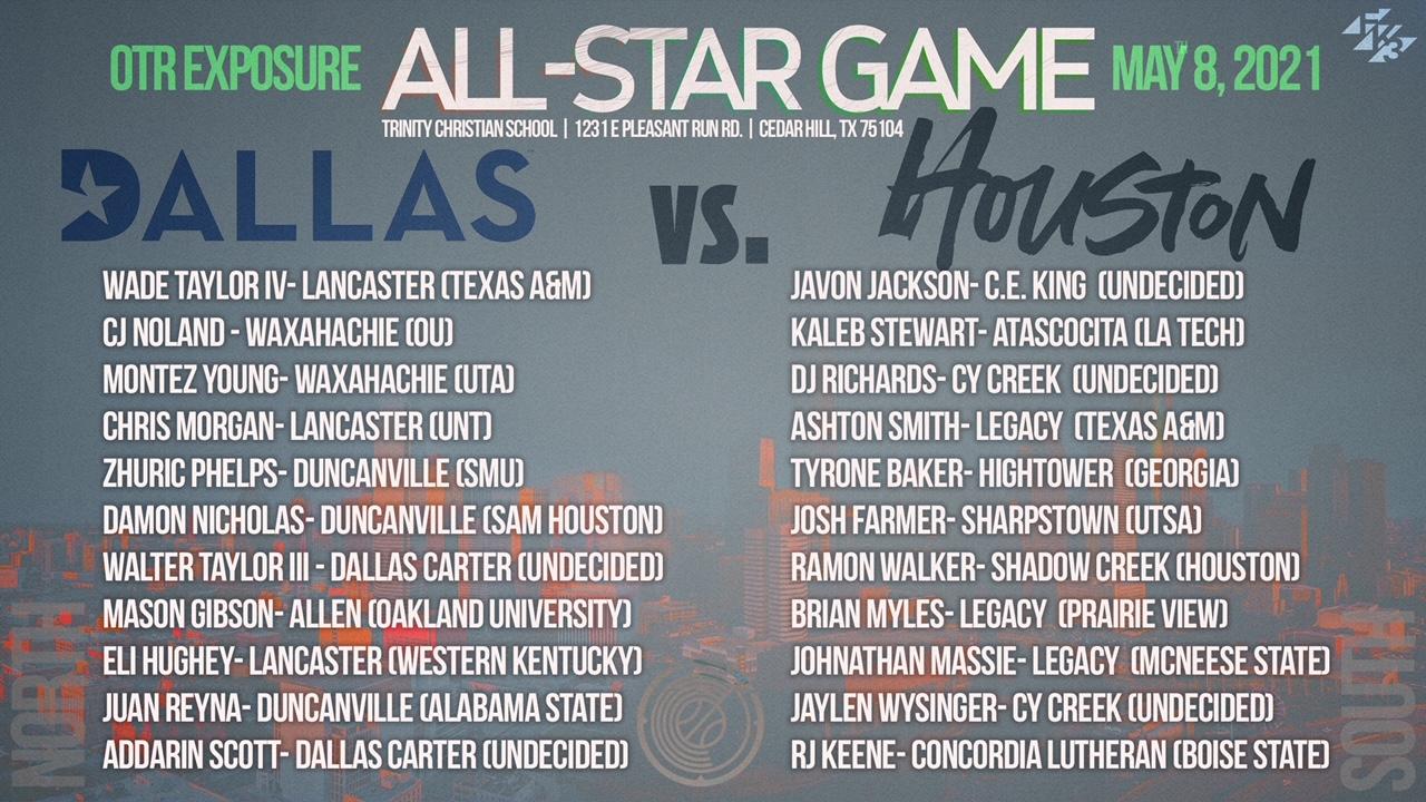 May 8, 2021 2021 OTR Exposure Houston vs Dallas All Star games